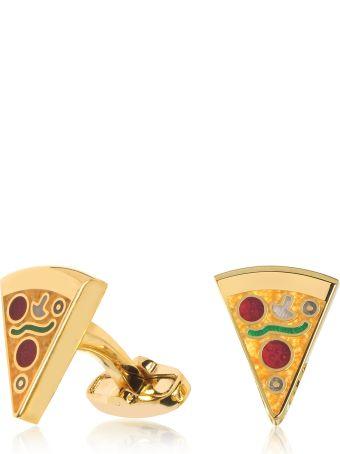 Paul Smith Pizza Slice Golden Cufflinks