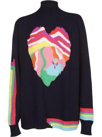 Barrie Heart Sweater