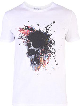 Alexander McQueen White Printed T-shirt
