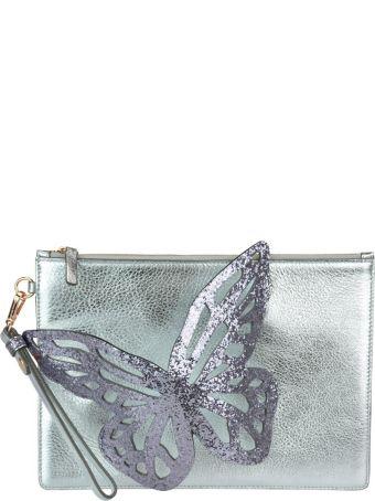 Sophia Webster Flossy Glitter Butterfly Pochette