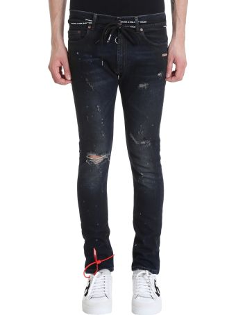Off-White Blue Denim Jeans