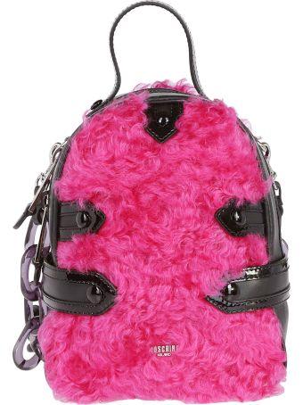 Moschino Zipped Mini Backpack