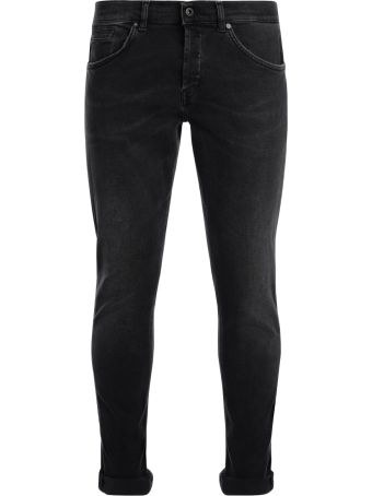 Dondup George Black Washed Jeans