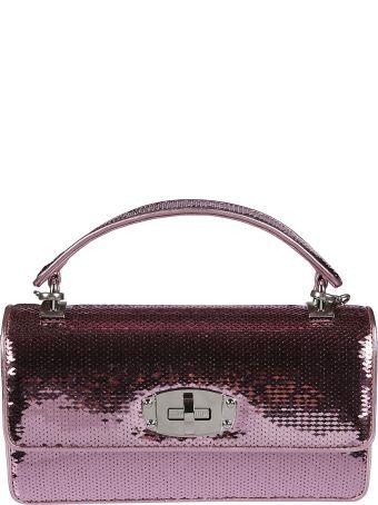 Miu Miu Sequins Embellished Shoulder Bag
