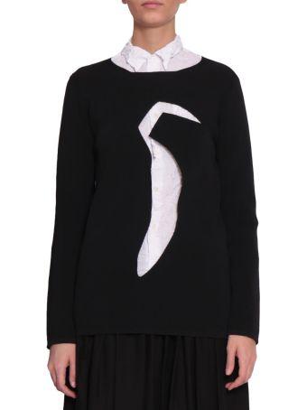 Comme des Garçons Cut-out Sweater