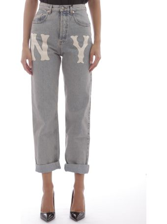 Gucci Jeans With Patche Ny