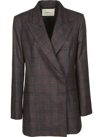 Mulberry Checked Blazer