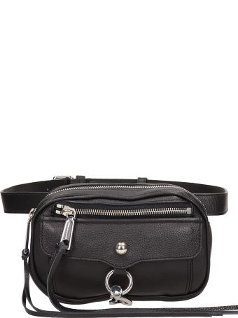 Rebecca Minkoff Black Leather Beltbag