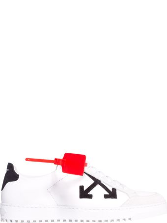 Off-White White Leather Arrows Sneakers