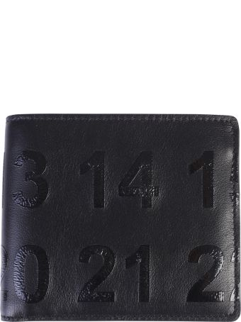Maison Margiela Black Printed Wallet
