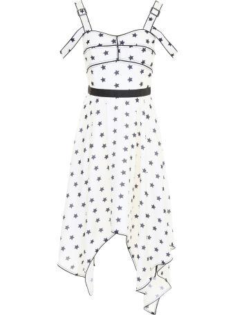 Star-printed Dress