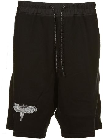 Marcelo Burlon Double Wings Shorts