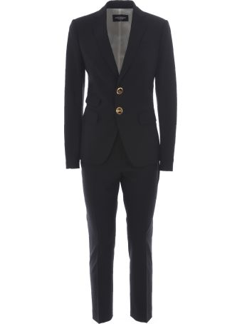 Dsquared2 Embellished Button Suit