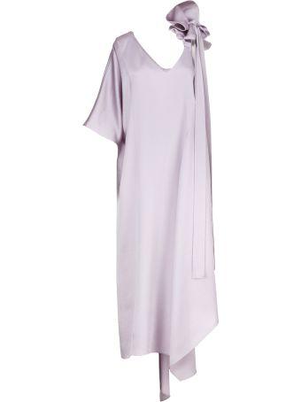 Valentino Bow Strap Evening Dress