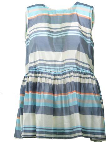 SEMICOUTURE Striped Mini Dress