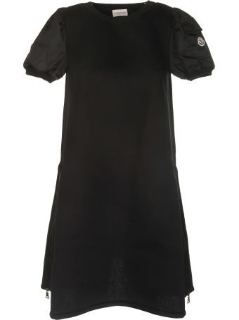 Moncler Logo Patch Dress