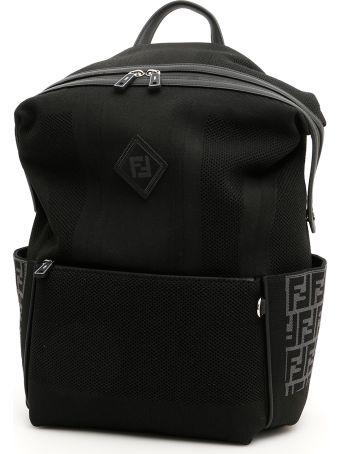 Fendi Knit Ff Backpack