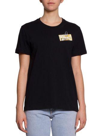 Off-White Letters Cotton T-shirt