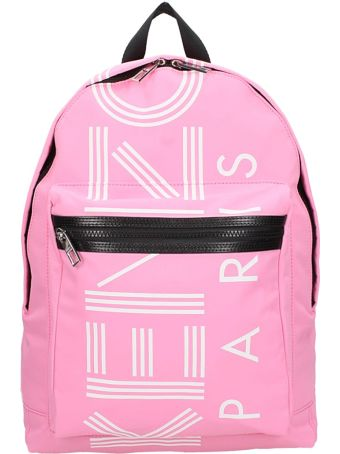 Kenzo Pink Fabric Backpack