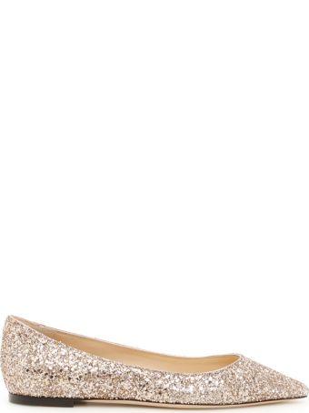 Glitter Romy Flats