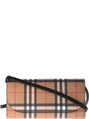 Burberry Check Bonded Henley Wallet