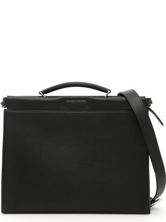 Fendi Peekaboo Fit Briefcase