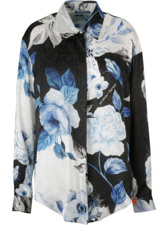 Off-White Floral Basic Shirt