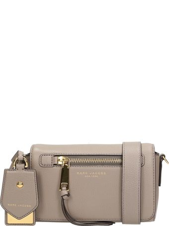 Marc Jacobs Shoulder Bag In Taupe Leather