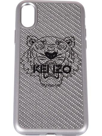 Kenzo Iphone X Carbon Fiber Cover