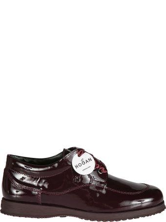 Hogan Glossy Oxford Shoes