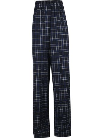 Balenciaga Checked Trousers