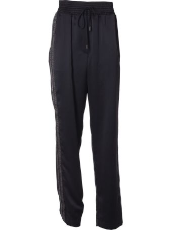 Off-White Drawstring High-waist Trousers