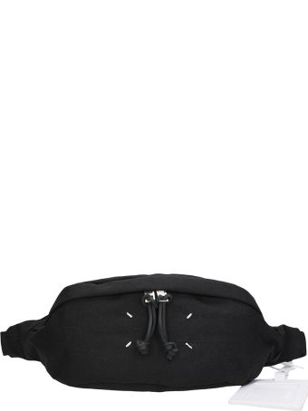 Maison Margiela Black Fabric Waist Bag