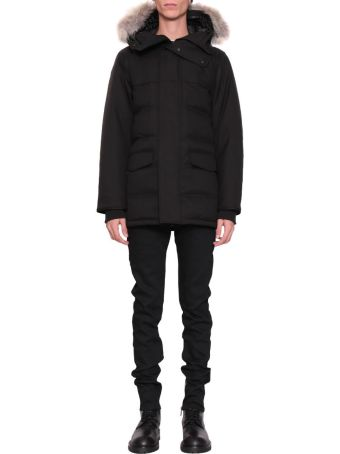 Canada Goose Fur Trimmed Clarence Parka