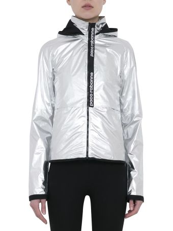 Paco Rabanne Metallic Nylon Jacket
