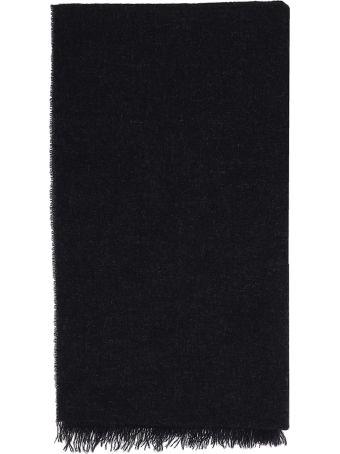 Low Brand Dark Gray Cashmere Scarf