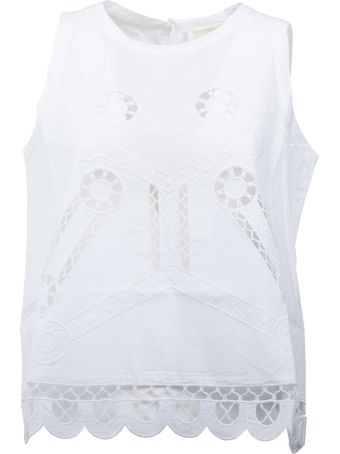 SEMICOUTURE Perforated Top