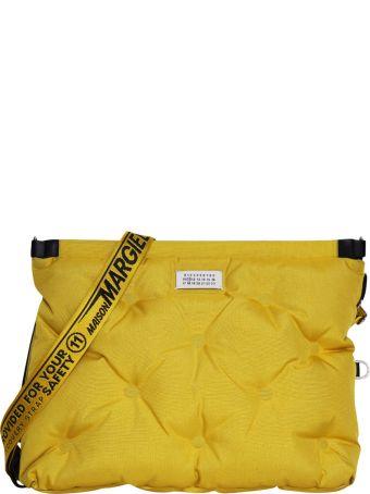 Maison Margiela Yellow Glam Slam Quilted Bag