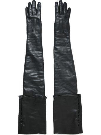 Ann Demeulemeester Leather Golves
