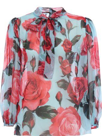 Dolce & Gabbana Printed Bluse