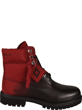 Marcelo Burlon Timberland Lace Up Boots