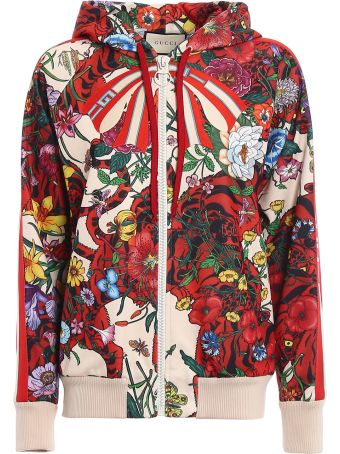 Gucci Technical Jersey Print Jacket
