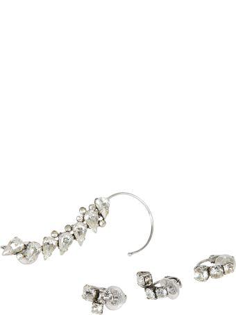 Saint Laurent Embellished Cuff Earring