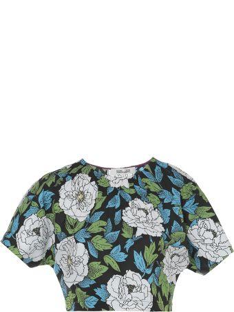 Diane Von Furstenberg Cotton Top