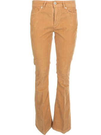 Dondup Corduroy Flared Trousers