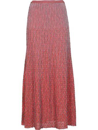 M Missoni Net Detailed Skirt