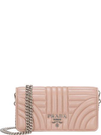Prada Chain Card Case Wallet