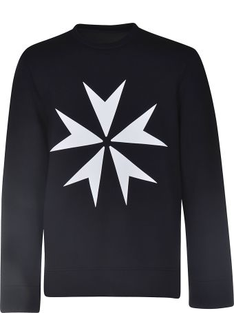 Neil Barrett Military Star Sweatshirt