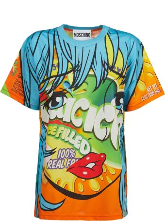 Moschino Icicle Print T-shirt