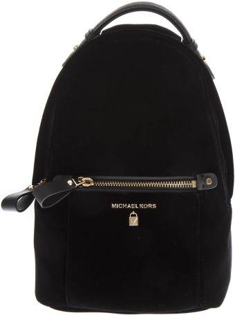 MICHAEL Michael Kors Kelsey Black Nylon Backpack